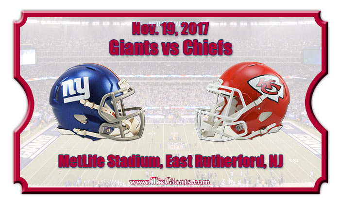 2017 Giants Vs Chiefs