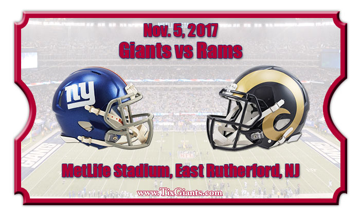 2017 Giants Vs Rams