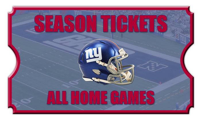 15c454f1d Giants Season Tickets. 2018 New York Giants Season Tickets